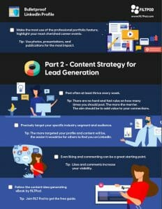 21 Point Exclusive Checklist for Effective LinkedIn Profile and Content Strategy - 3