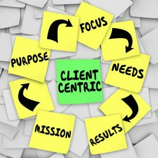 Client centric, customer centric