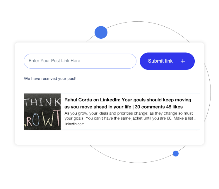submit new link - features