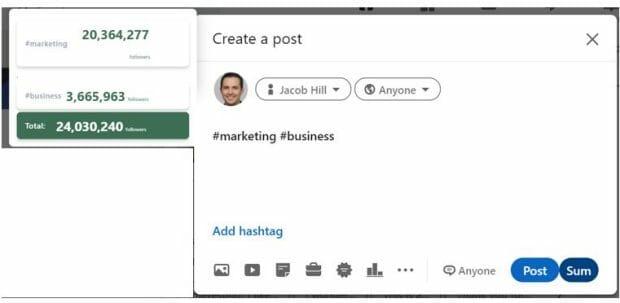 Using Hashtags on LinkedIn: Achieve Optimal Reach
